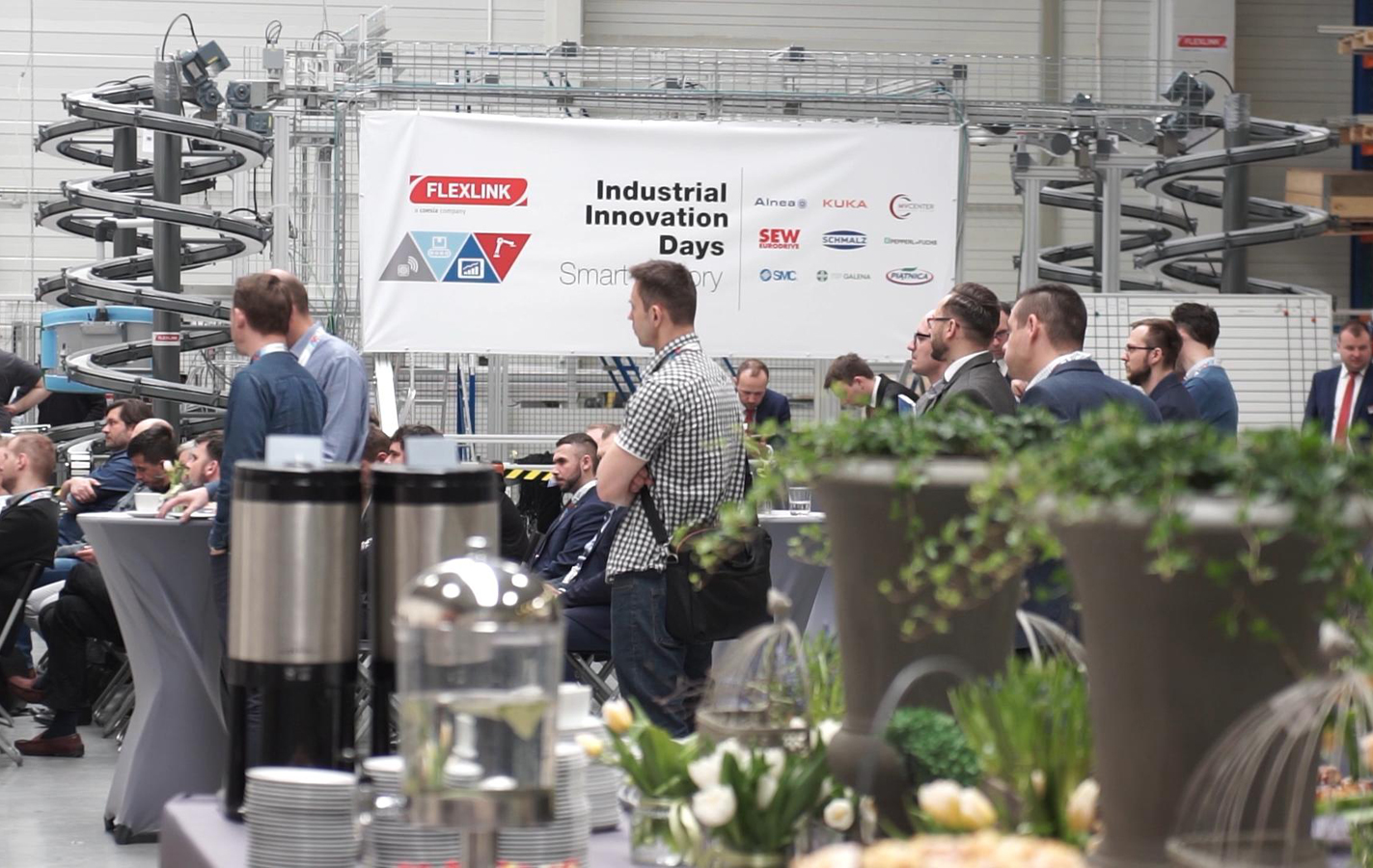 FlexLink Industrial Innovation Days Smart Factory 2018